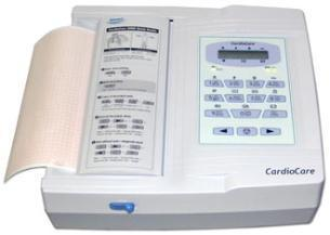 Description: Image result for Bionet Cardiocare ECG (Thermal) - 12 channel The CardioCare 2000